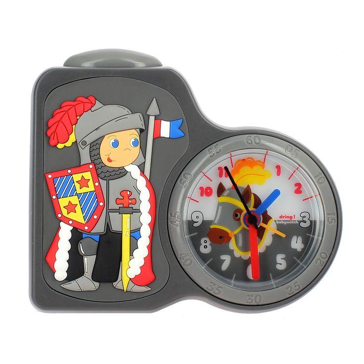 Premier réveil Chevalier Babywatch pour enfant de 4 ans à 8 ans - Oxybul éveil et jeux