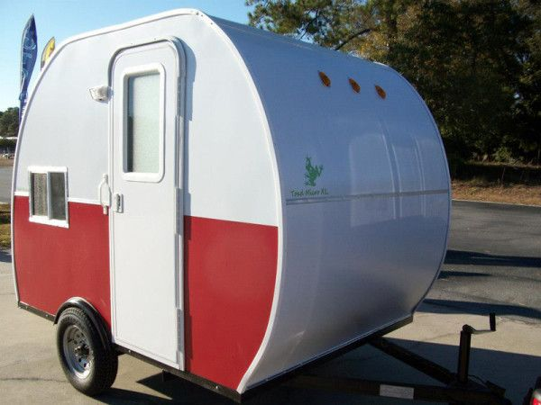 find this pin and more on tiny trailers campers rvs - Tiny Camping Trailers