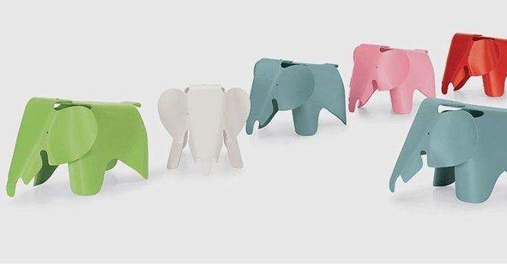 """77 Likes, 5 Comments - Mônica Barbosa (@monicabarbosabr) on Instagram: """"'Eames elephant"""", by Charles and Ray Eames, eterno desejo de consumo. Motivo, não consigo escolher…"""""""