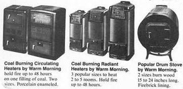Warm Morning Wood Stove Parts