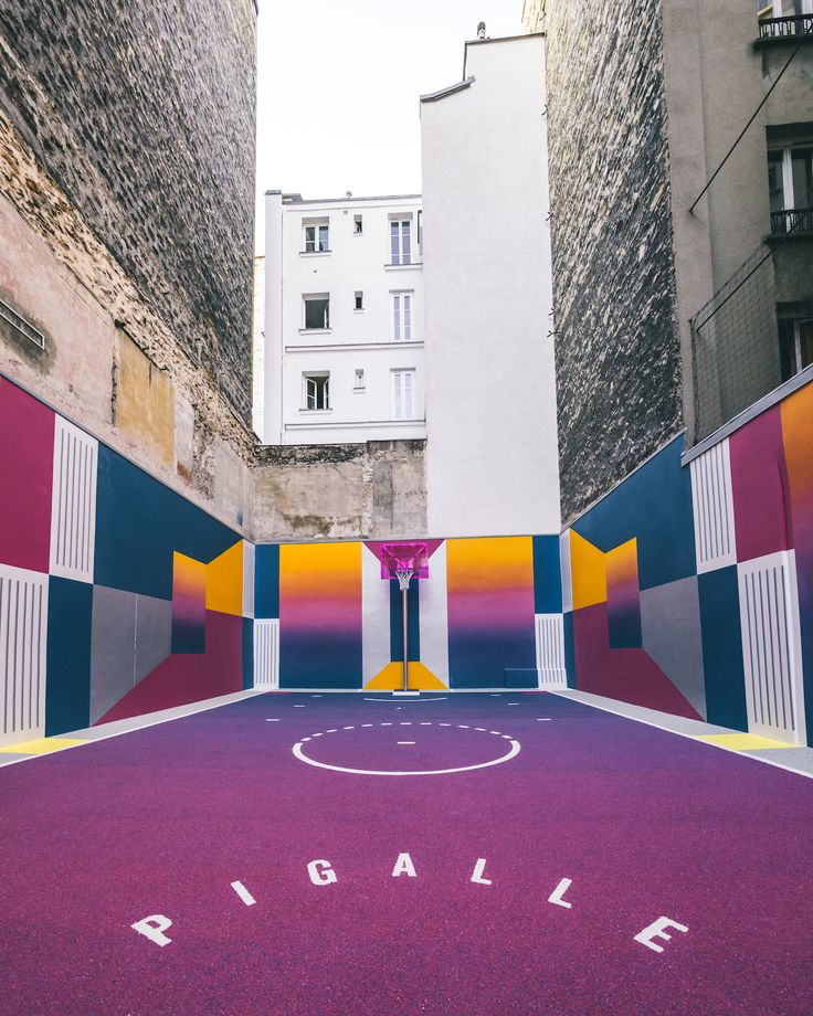 New Basketball Court — Pigalle x Nike