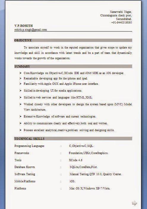 28700 best Brainfood images on Pinterest Cv format, Resume - qtp resume