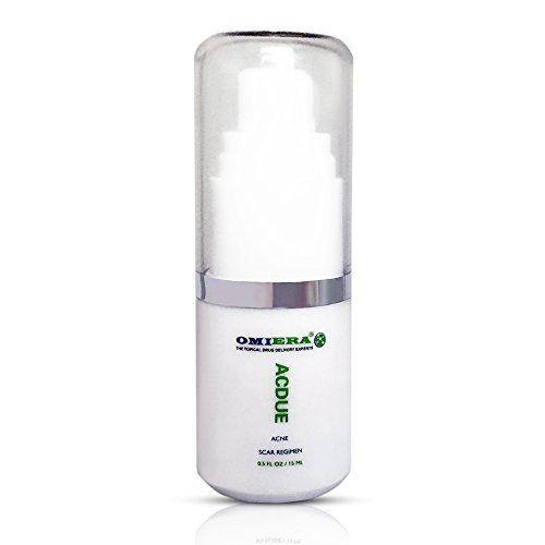 Traitement de l'acné, cicatrices d'acné, l'acné cicatrices taches, Correcteur de taches sombres, Acdue Par Omiera Labs, 15 mls: Se…
