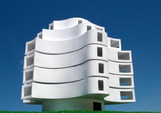 Wind Shaped Pavilion (Michael Jantzen)