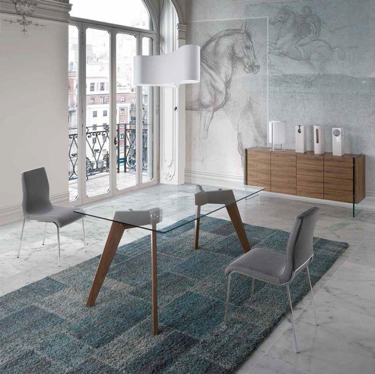 1000 ideas sobre patas de mesa en pinterest muebles de for Mesas de comedor cristal y madera