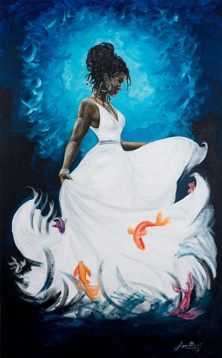 Universal Goddess Tarot: 17+ Best Images About Yemaya Mother Of The Ocean On