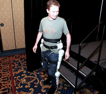"""Very useful robot suit """"HAL"""" by CYBERDYNE Inc.   MADE IN JAPAN http://www.cyberdyne.jp/english/index.html"""