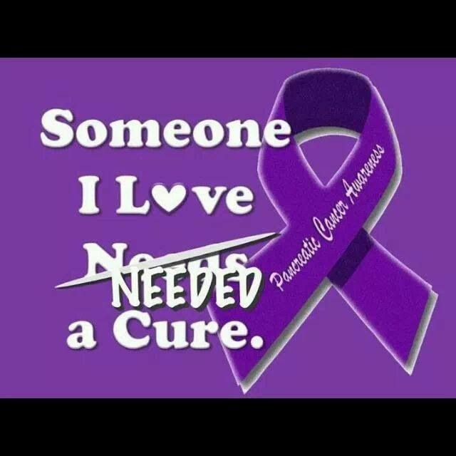 Pancreatic Cancer Awareness.R.I.P.MOM 10/16/14
