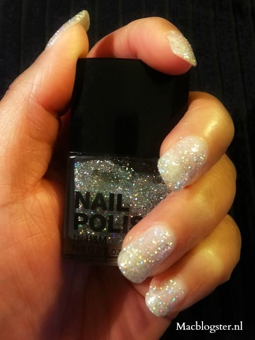 Budget Beauty: H&M 3D glitter nail polish