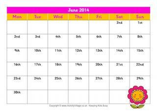 Printable Monthly Planners 2014 Images - Reverse Search