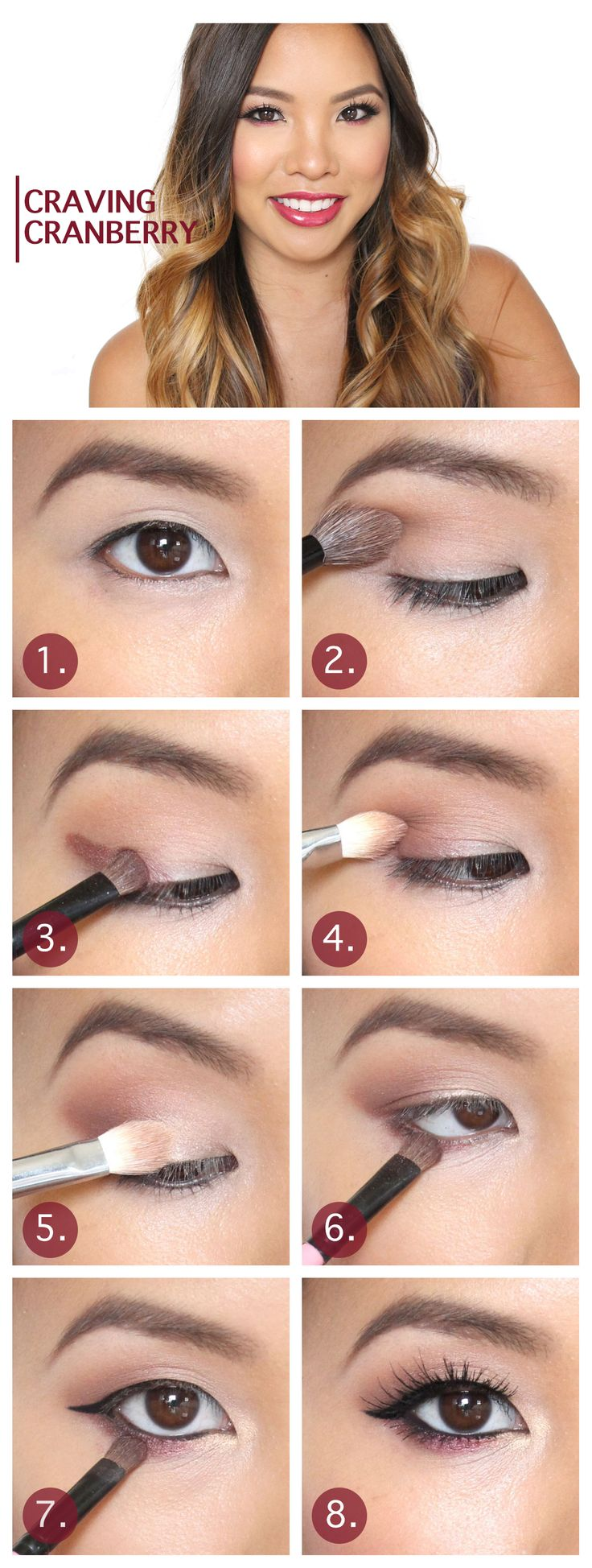 Makeup for asian eyes think