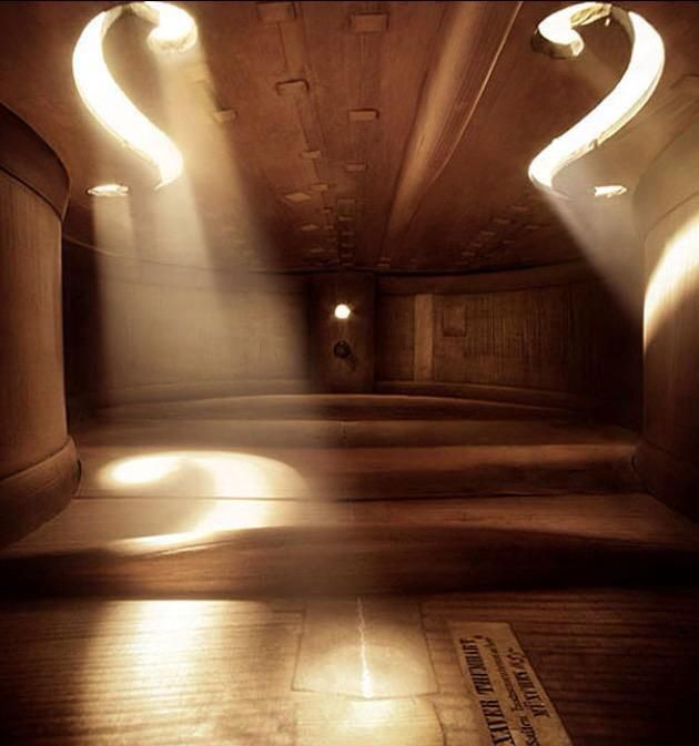 I love this picture of the inside of a violin.  I want live inside it...