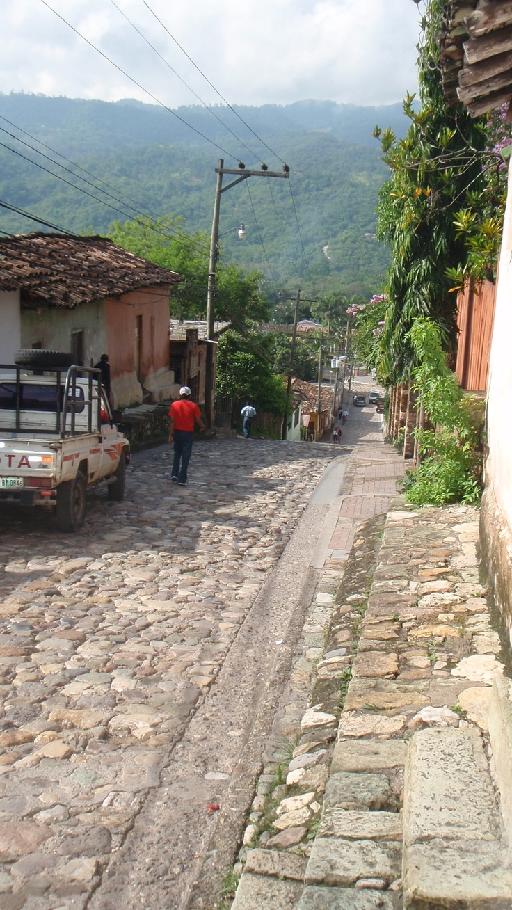 Copan, Honduras. I loved this place. May take bus from La Cieba on mainland. 6 hr ride from ferry after coming from Utila to mainland Honduras