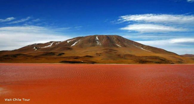 Laguna Roja: Mysteries Of The Red Lake in Northern Chile | Chile Travel - August 8, 2013