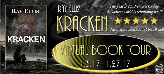 CBY Book Club: Blog Tour Spotlight - Kracken by Ray Ellis