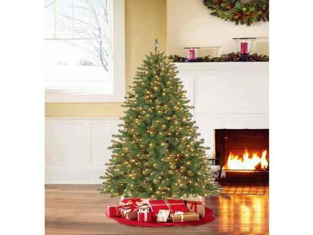 4 Ft Pre Lit Christmas Tree Walmart