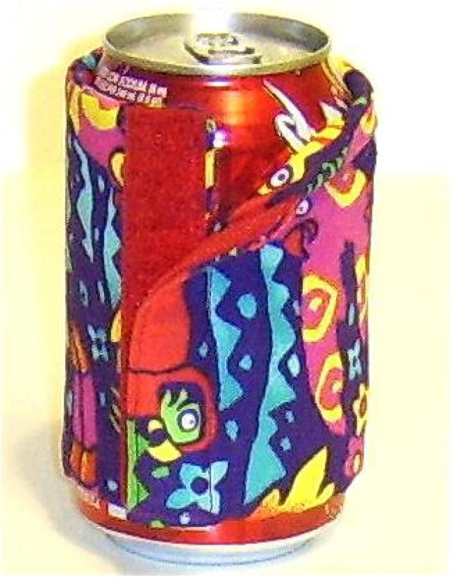 An insulating can wrap sewn with these free directions. - Debbie Colgrove, Licensed to About.com
