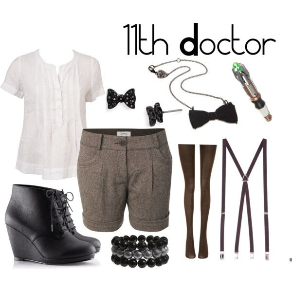 11th Doctor inspired outfit...dunno if I've got the bone structure to pull it off...not exactly my style either :/ but i <3 doctor who tho...