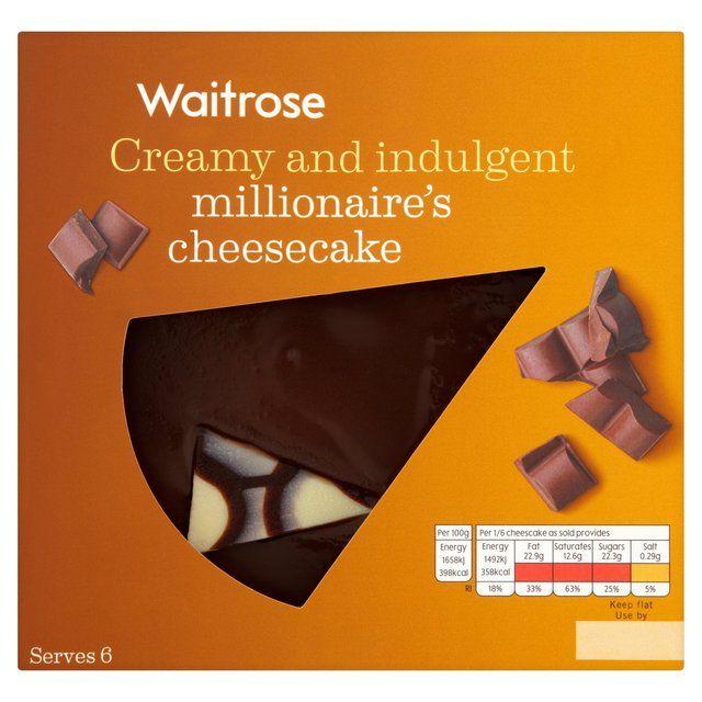 Millionaire's Cheesecake Waitrose http://www.ocado.com