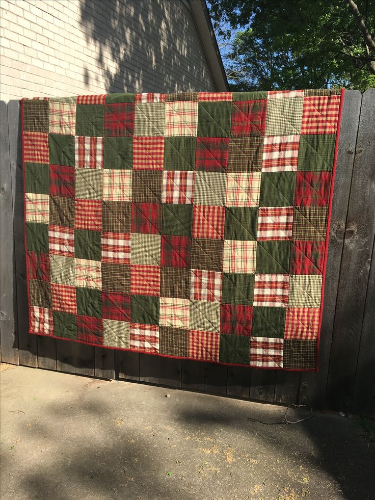 """""""Merry Christmas"""" (64"""" x 64"""" quilt) pieced and quilted by Pat Hopf 2016  for Suzi and Cosmo AND another quilt  """"Happiness is Christmas"""" for Chris"""