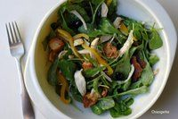 Warm Chicken Salad with Arugula, Olives, and Pine Nuts - Orangette