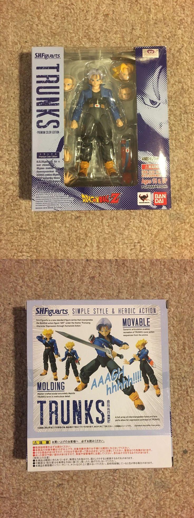 DragonBall Z 7117: Bandai Sh Figuarts Super Saiyan Trunks Premium Color Us Seller! -> BUY IT NOW ONLY: $44.89 on eBay!