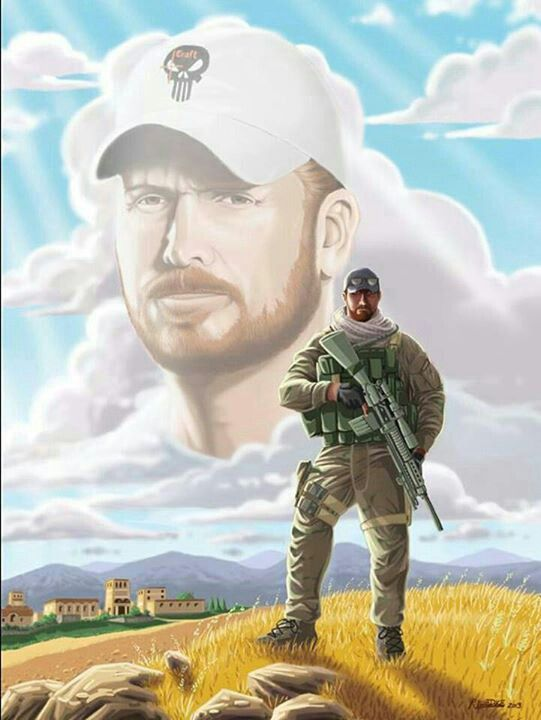 Chris Kyle ~ Devil of Ramadhi. Killed by an empathizer of islamists here on American soil.