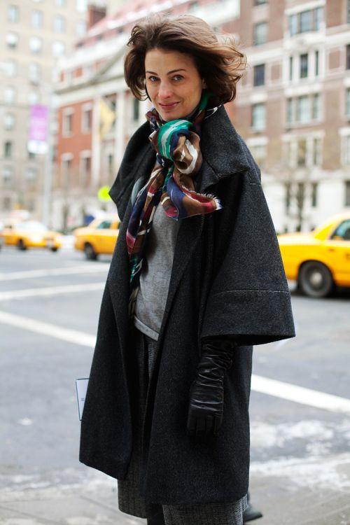 On the Street…..Park Ave., NYC « The Sartorialist ~ Marina Rust Connor
