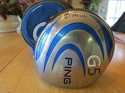 Ping-G5-10-5-460cc-Titanium-Driver-with-Cover-Grafalloy