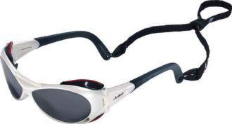 Julbo Sunglasses - Explorer / Frame: White Lens: Polycarbonate Spectron 4 Flash and Anti-Glare Julbo. $92.99