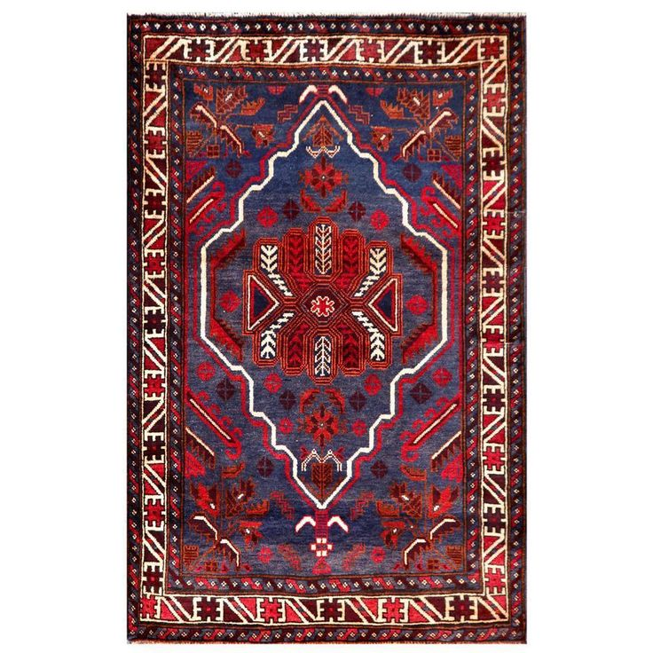 Herat Oriental Semi-antique Afghan Hand-knotted Tribal