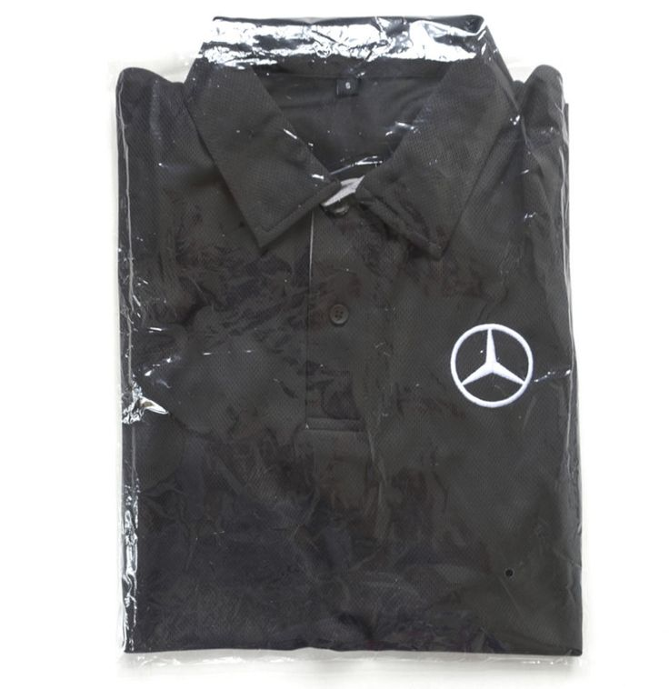 Mercedes Benz AMG Driving Academy Men Car Racing Track Day Black Polo Shirt S #MercedesBenz #PoloRugby