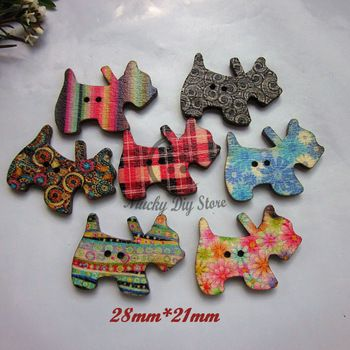 16 best images about cartoon wood buttons vintage on for Decorative buttons for crafts