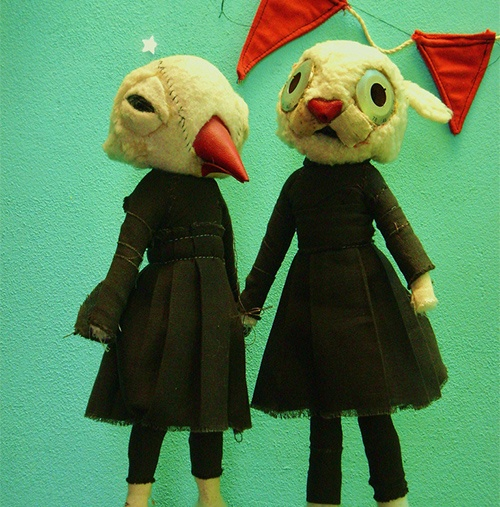 etsy - amazing puppet sculptures:
