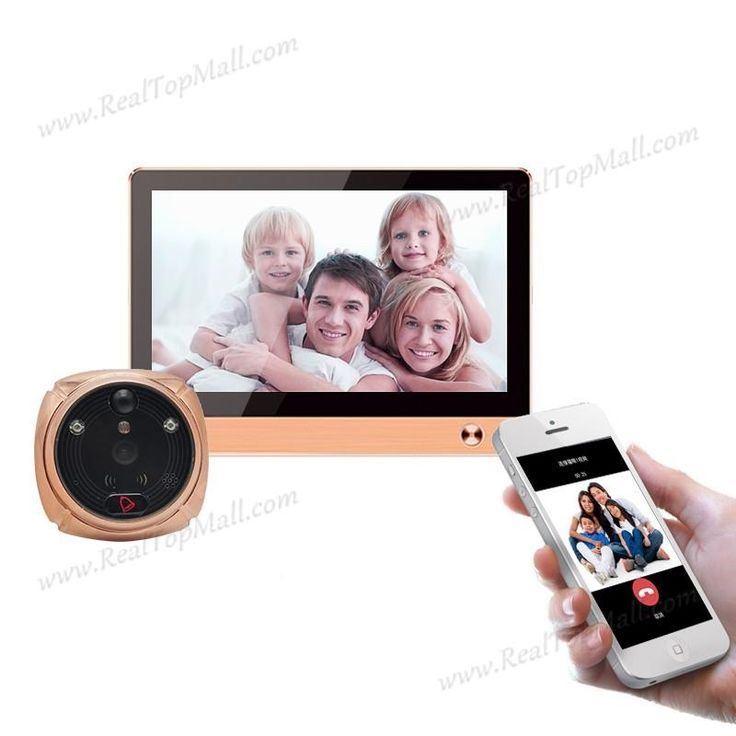 179.8$  Watch now - New Door viewer ihome4 for apartment security,night vision wifi door bell camera video door phone super long standby time   #aliexpressideas