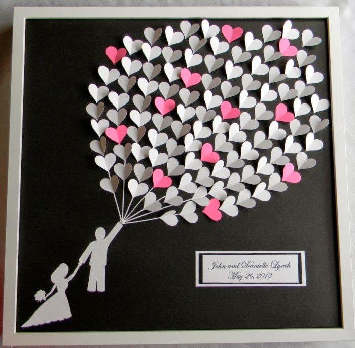 Ao invés do famoso livro de assinatura dos noivos, pode-se usar uma árvore com as digitais dos convidados (lembre-se de deixar ao lado da t...