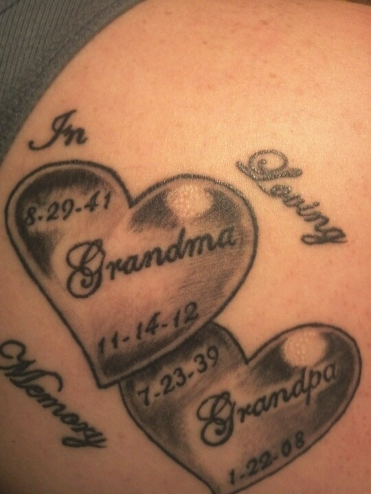 best 20 grandparents tattoo ideas on pinterest memorial tattoos grandma memorial tattoos mom. Black Bedroom Furniture Sets. Home Design Ideas