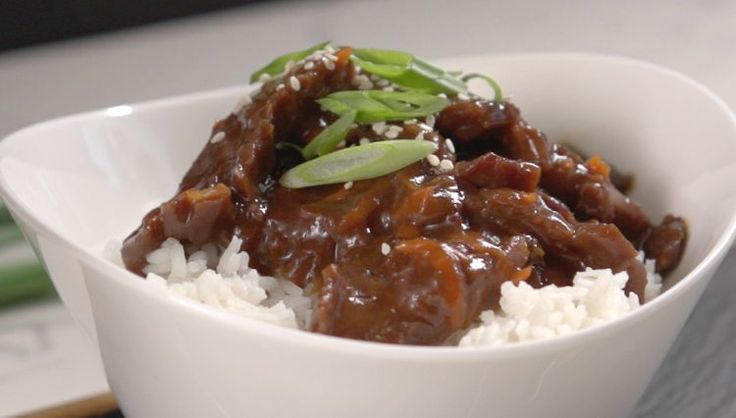 Better than take out Slow Cooker Mongolian Beef