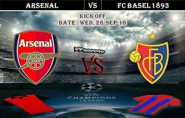 Arsenal vs FC Basel 28.09.2016 Predictions - PPsoccer
