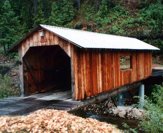 Covered Bridge in Idaho City, ID