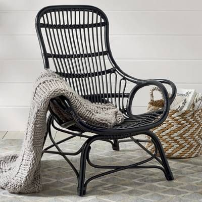 The simplicity of modern casual style is exemplified in the Paloma Bench. It shows you how wonderfully mood-setting modern rattan can be indoors, when envisioned as something new. This sleek and simple style is a long, lean swoop of natural prettiness in handwoven, natural rattan. Airy, openwork side wings curve up and gently out. An openwork apron along the bottom edge echoes the look. Wherever you place it, from bedroom to great room to sunroom, our easy-going bench invites you...