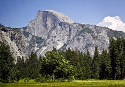 x Half Dome:  Yosemite National Park, CA.  (have only hiked to the base of the granite staircase - need to return)