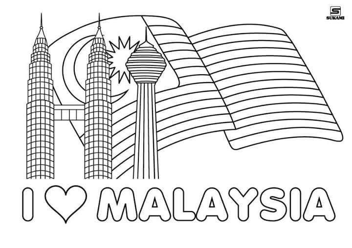 Image Result For Poster Hari Kemerdekaan 2018 Poster Coloring Pages Hari Kemerdekaan
