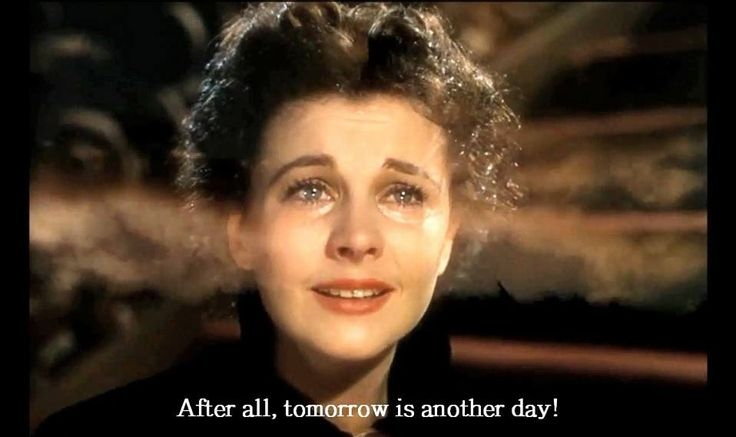 After all tomorrow is another day scarlett o hara for Who played scarlett o hara in gone with the wind