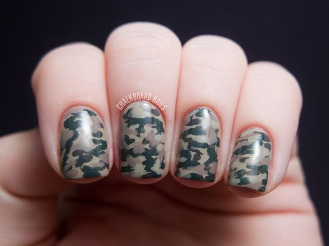 Camouflage Nails with the LCN Urban Expression Box Set - Best 25+ Camouflage Nails Ideas On Pinterest Camo Nail Art, Camo