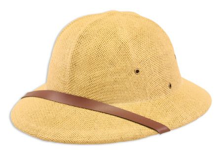 Straw Safari Helmet - Khaki $24.95