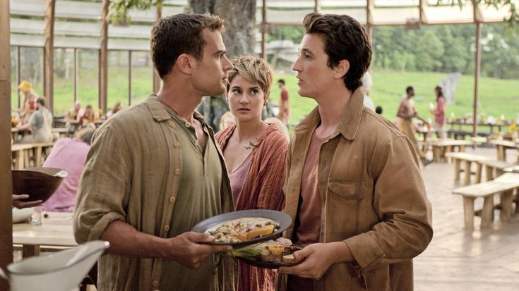 New Clip From 'Insurgent' features Theo James, Shailene Woodley and Miles Teller in Amity Compound