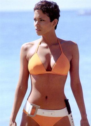 Halle Berry as Jinx for 'Die Another Day' (2002) : Celebs