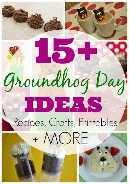 15 plus Groundhog Day Activities for Kids -- great ideas all in one place!