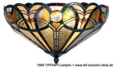 EXTRA-Modell! klassische TIFFANY Deckenleuchte, unsere umfangreiche Serie SEATTL…  # Beleuchtung